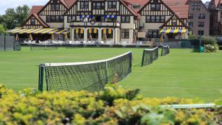The annual Talbert Cup will be played at The West Side Tennis Club this year.